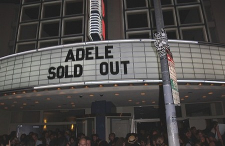 Adele Sold Out