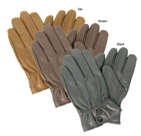 Adi Designs Button-cuff Lambskin Gloves $15.99