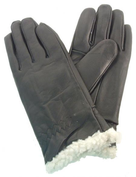 Adi Lambskin Gloves with Sherpa Lining