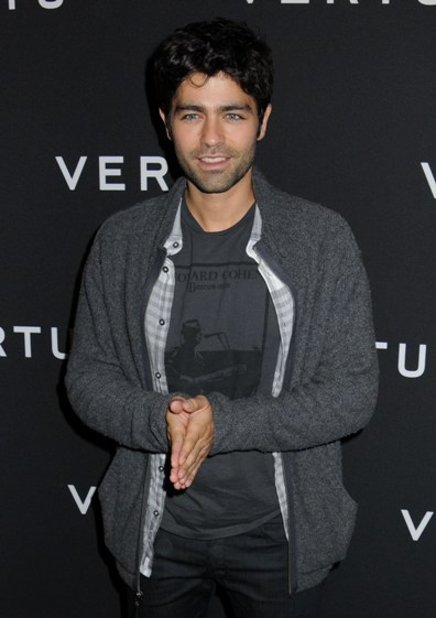 Looks like Adrian Grenier is up to something!