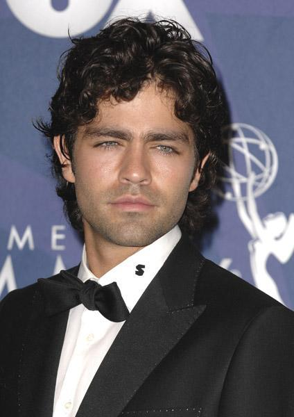 Adrian Grenier looks like he's ready for bed at the 2008 Emmy Awards