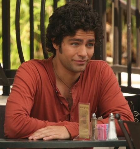 Adrian Grenier channels Vincent Chase like a pro in this shot from Entourage