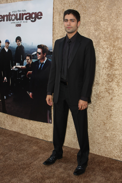 Adrian at the Entourage premiere