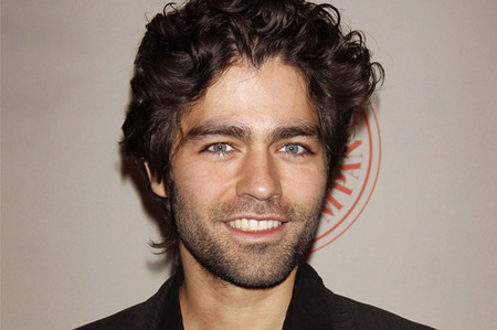 Adrian Grenier and his GORGEOUS eyes. Trying not to fall to our knees...