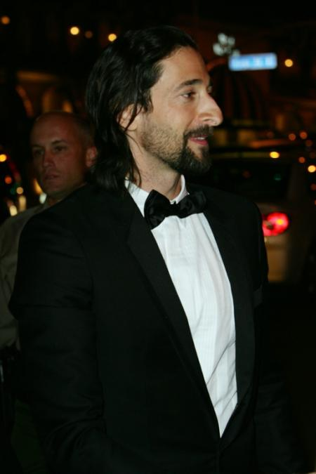 Adrien Brody at the 2009 Oscars