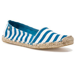 Aigner Urban Striped Espadrille Flat