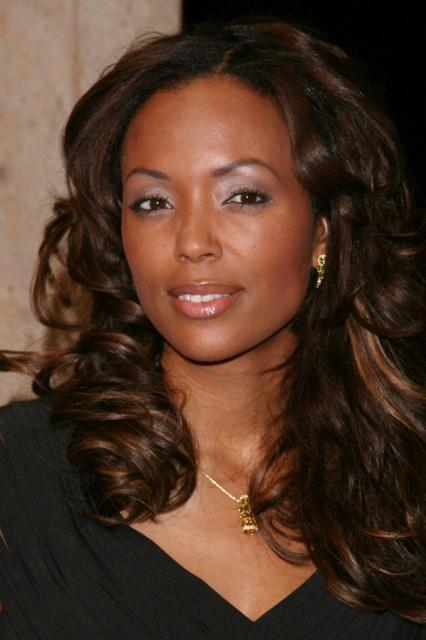 Aisha Tyler Long Layered Curls