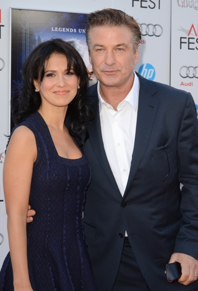 Alec Baldwin and Hilaria Thomas