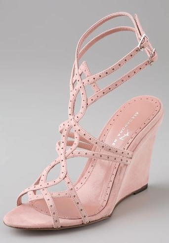 Alexandra Neel Strappy Wedge Sandals