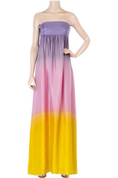 Alice + Olivia Ombre Maxi Dress