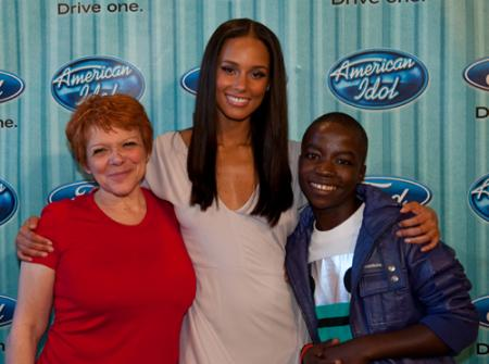 Alicia Keys on American Idol