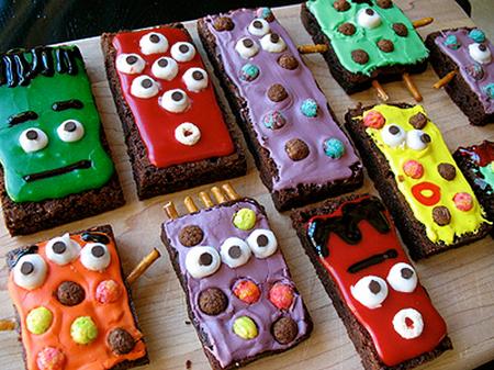 Monster brownie treats