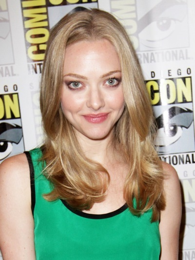 Amanda Seyfried's natural hairstyle