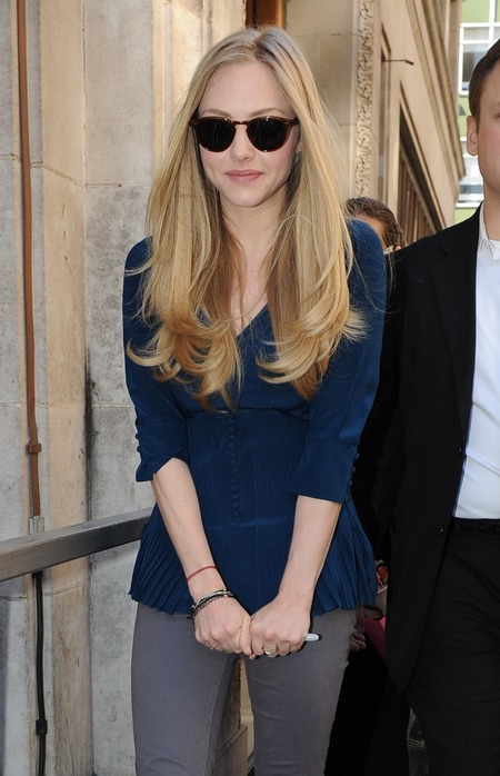 Amanda Seyfried with long locks
