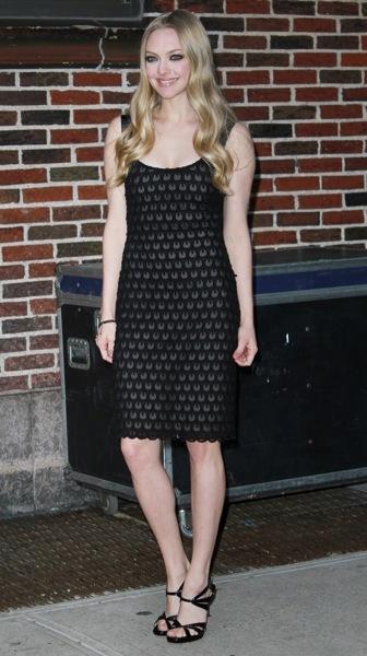 Amanda Seyfried in lace