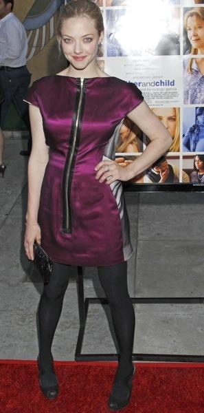 Amanda Seyfried's forward fashion