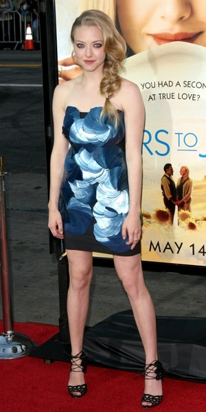 Amanda Seyfried's summer hairstyle