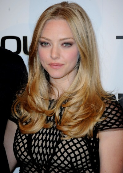Amanda Seyfried's hairstyle