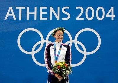 Amanda Beard at the 2004 Olympics