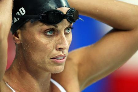 Amanda Beard at the 2008 Olympics
