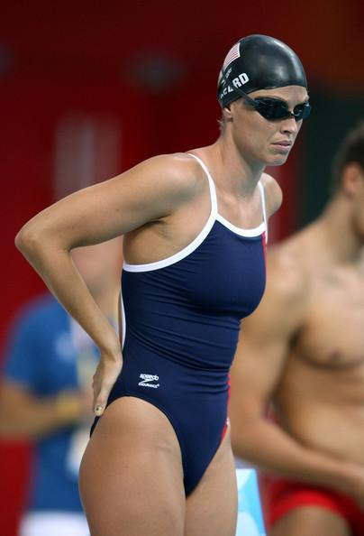 Amanda Beard at the Beijing Olympics
