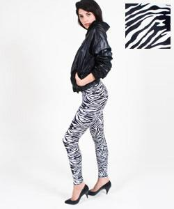 American Apparel Animal Print Leggings