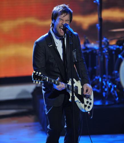 American Idol winner David Cook
