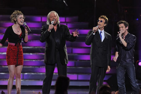 Bee Gees, Siobhan Magnus and Aaron Kelly at Finale 5/26/10