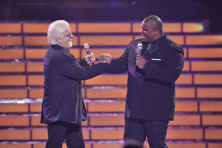 Michael McDonald and Michael Lynche at Finale 5/26/10