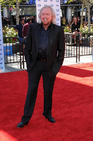 Barry Bibb from the Bee Gees on Red Carpet at Finale 5/26/10