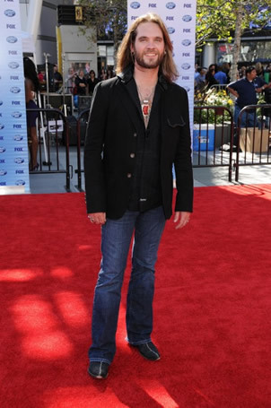 Bo Bices on Red Carpet at Finale 5/26/10