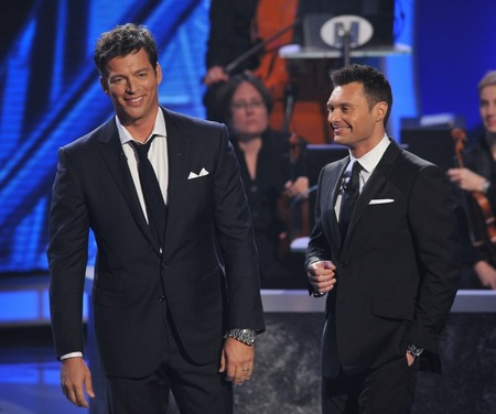 Harry Connick Jr. and Ryan Seacrest