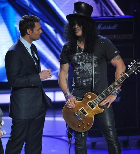 Ryan Seacrest and Slash