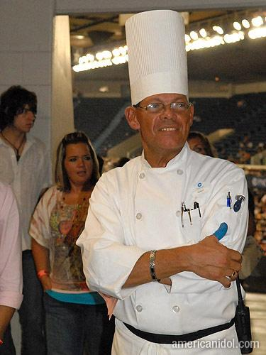 American Idol Season 9 Auditions Man Dressed as a Chef