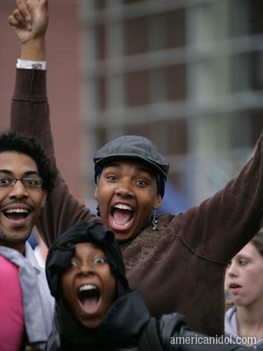 American Idol Season 9 Boston Auditions Crowd Screaming