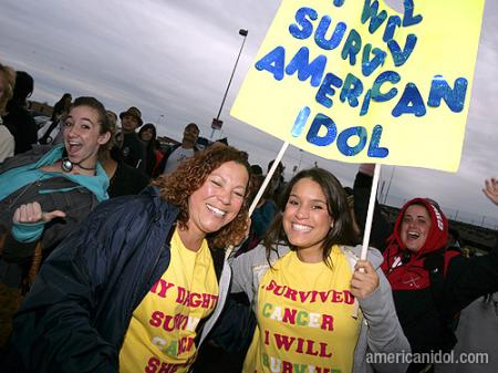 American Idol Season 9 Boston Auditions Two Women Survived Cancer