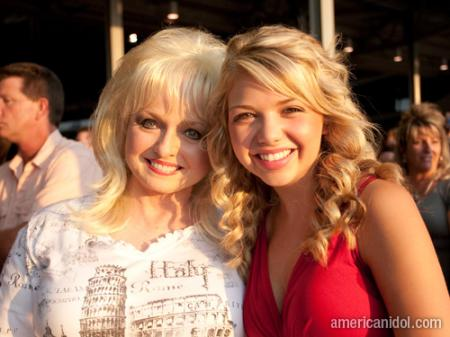 American Idol Season 9 Dallas Auditions Mom and Daughter