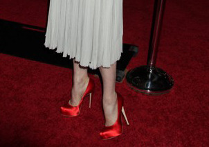 Can you guess which celebrity wore these shoes?