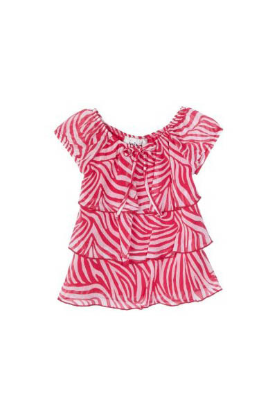 Amy Byer Girls Chiffon Top