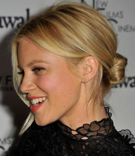 Amy Smart's Sweet Bun
