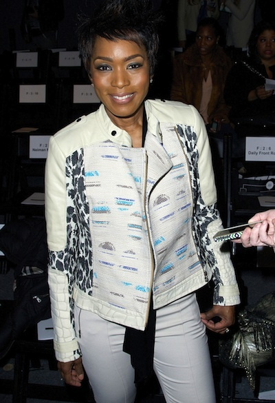 Angela Bassett at Tracy Reese