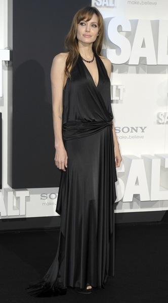 Angelina Jolie in loose dress