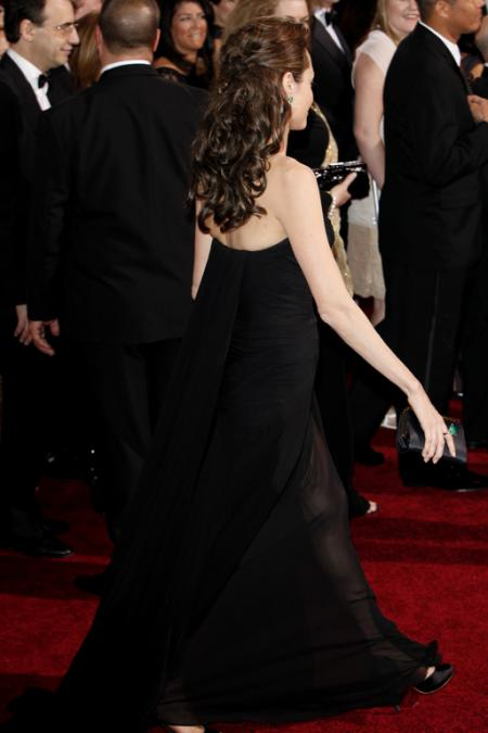 Angelina Jolie at the 2009 Oscars