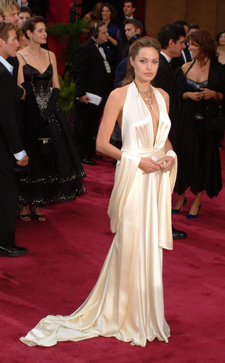 Angelina Jolie - 2004 Oscars