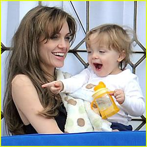 Angelina Jolie and Knox