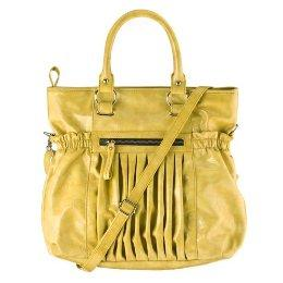 Angie & Lola Satchel with Pleats