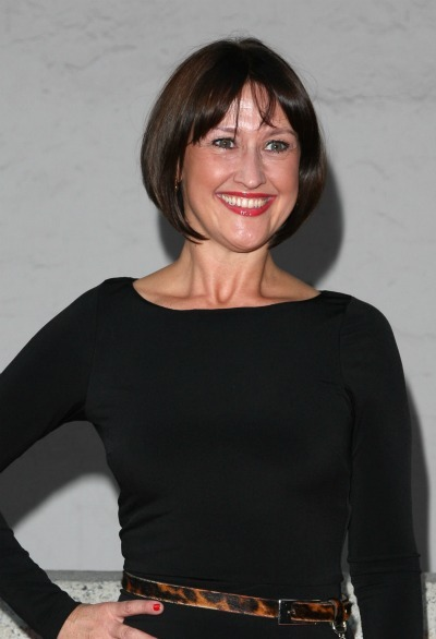Angie Londsdale's cropped bob
