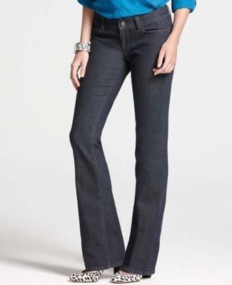 Ann Taylor Petite Modern Denim Bootcut Jeans