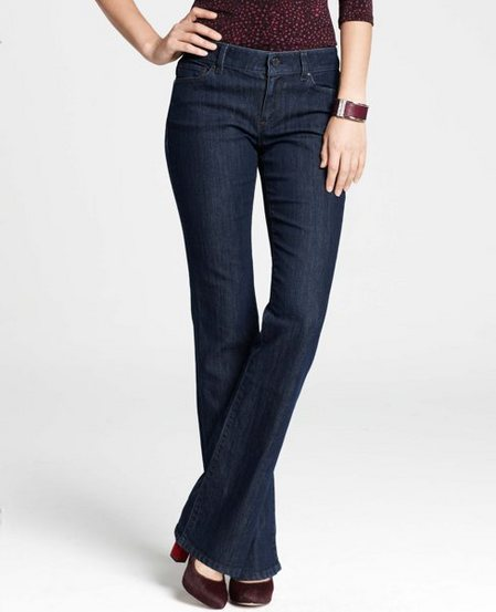 Tall Curvy Denim Boot Cut Jeans