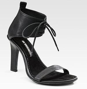 Ann Demeulemeester Ankle Strap Sandals